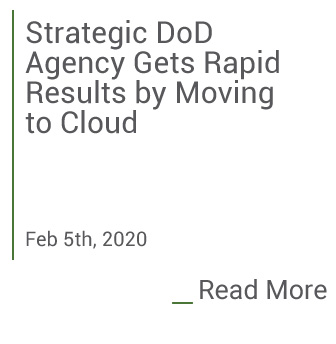 Assyst helps agency move to the cloud. Click to read more.