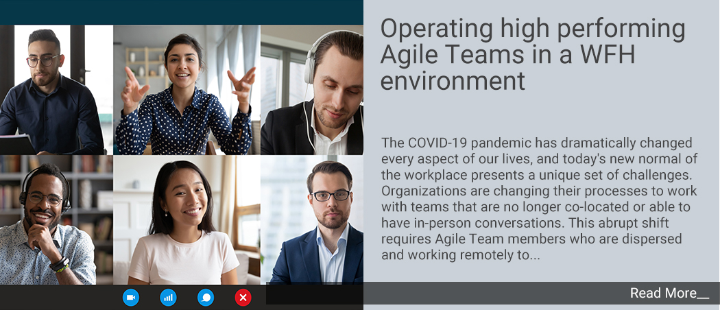 Operating High performing Agile Teams in a WFH environment